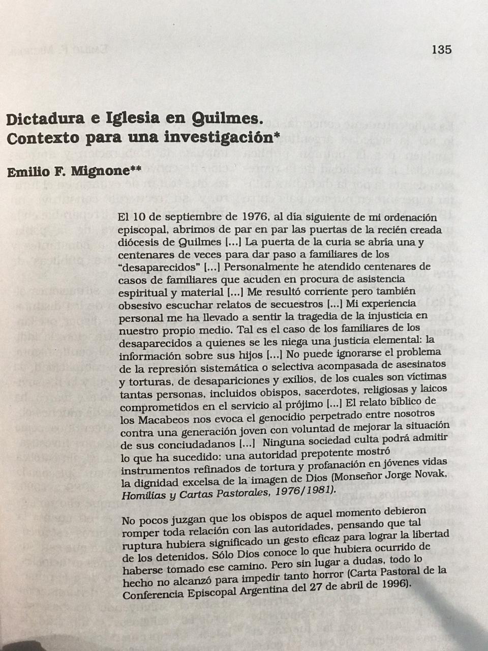 Emilio Mignone