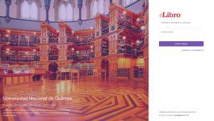 E-Libro Biblioteca UNQ